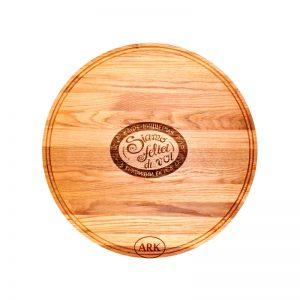 Доска для пиццы деревянная