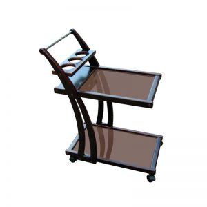 Столик сервировочный деревянный
