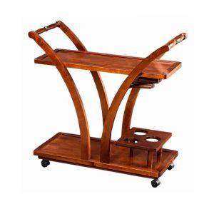 Столик сервировочный из дерева
