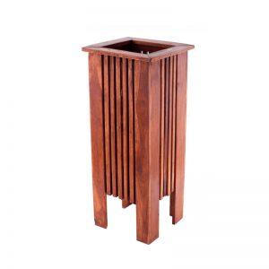 Подставка под зонты и трости деревянная